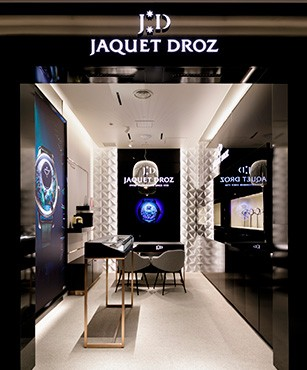 Jaquet Droz, Shop in Shop at Daimaru Shinsaibashi Main building, Osaka