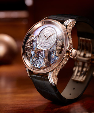 "JAQUET DROZ UNVEILS A NEW ONE-OF-A-KIND ""TROPICAL BIRD REPEATER"""