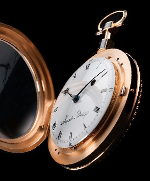 THE POCKET WATCH BY JAQUET DROZ