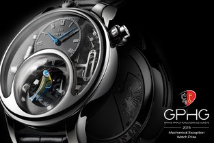 "Jaquet Droz wins the Grand Prix d'Horlogerie de Genève in the ""Mechanical Exception"" category"