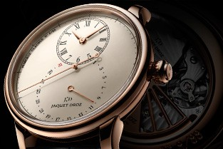 The Grande Seconde Deadbeat watch, a new tribute to the Age of Enlightenment from Jaquet Droz