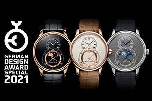 JAQUET DROZ AWARDED BY GERMAN DESIGN AWARD 2021