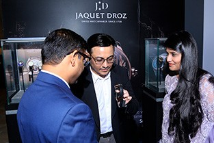 Jaquet Droz and Johnson Watch Company, Special cocktail in New Delhi