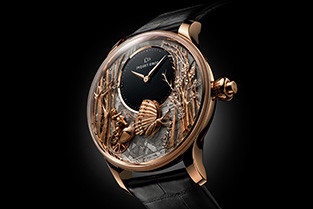 JAQUET DROZ UNVEILS THREE NEW VERSIONS OF THE LOVING BUTTERFLY AUTOMATON