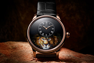 JAQUET DROZ UNLEASHES THE LION IN A SERIES OF 28 ONE-OF-A-KIND ATELIERS D'ART PIECES