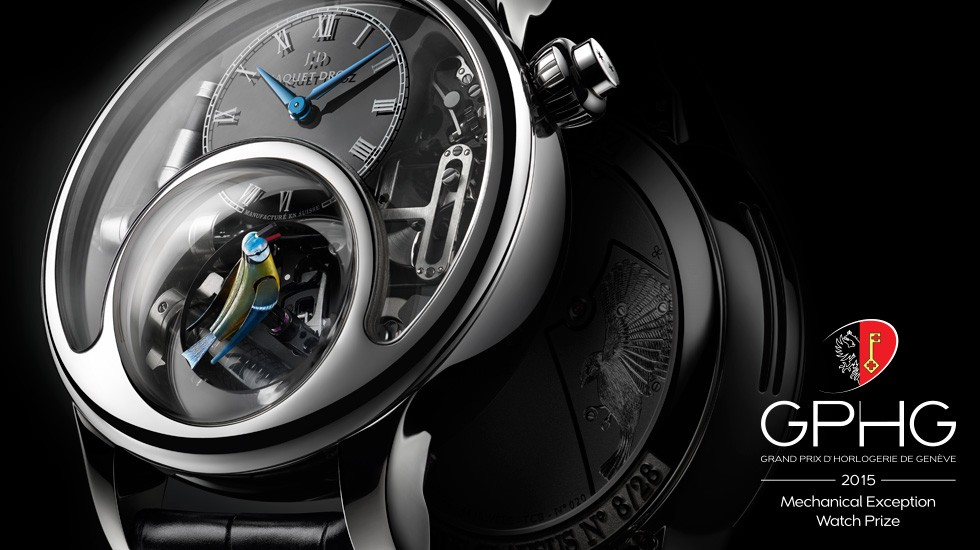 Jaquet Droz wins the Grand Prix d'Horlogerie de Genève in the