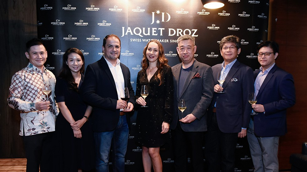 JAQUET DROZ NOVELTIES 2017 IN SINGAPORE, Press Wall