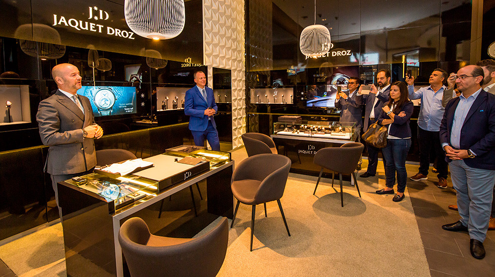 Jaquet Droz, 2019 Novelties Presentation Dubai, CEO welcome speech