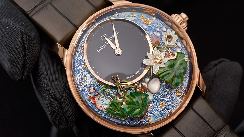 Jaquet Droz, 2019 Novelties Presentation Dubai, Magic Lotus Automaton Presentation