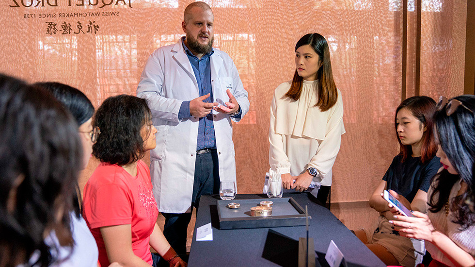 Jaquet Droz, 2019 Novelties Presentation, China, Antique Pieces Presentation