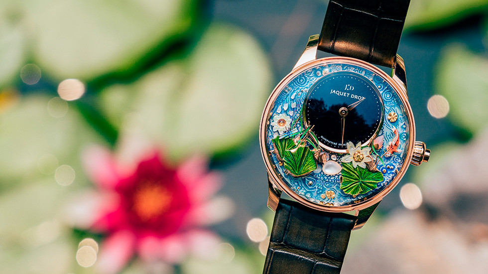 Jaquet Droz, 2019 Novelties Presentation, China, Magic Lotus Automaton