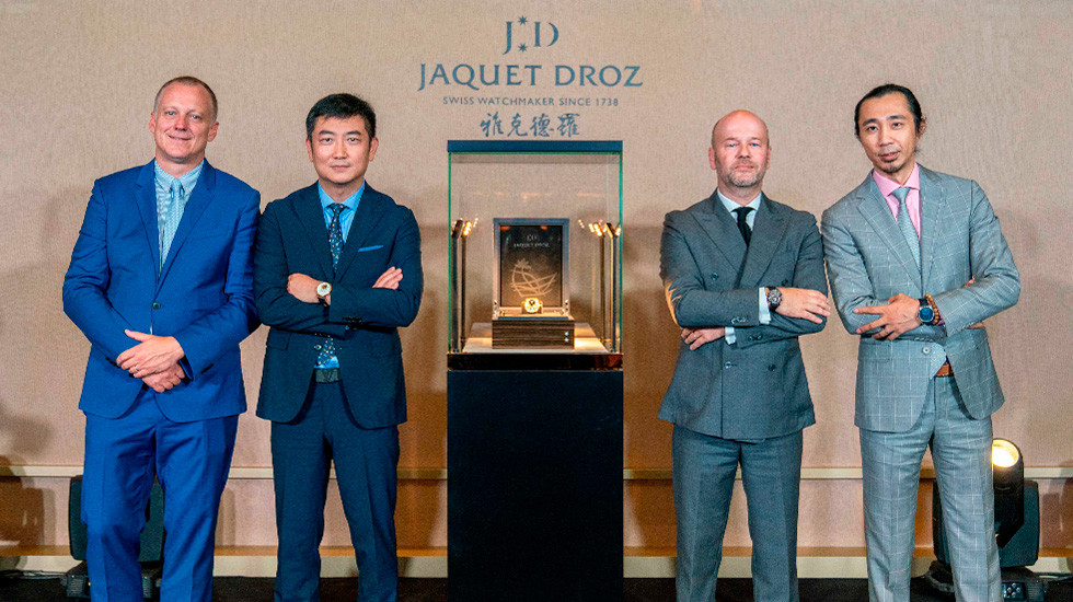 Jaquet Droz, 2019 Novelties Presentation, China, Representative Hosts