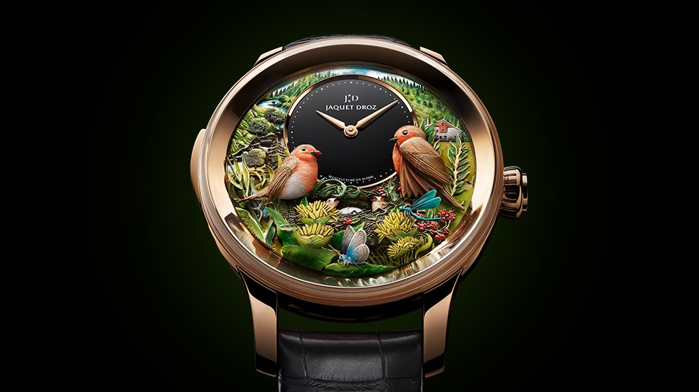Jaquet Droz, Bird Repeater 300th Anniversary Edition, J031033211, Ambiance