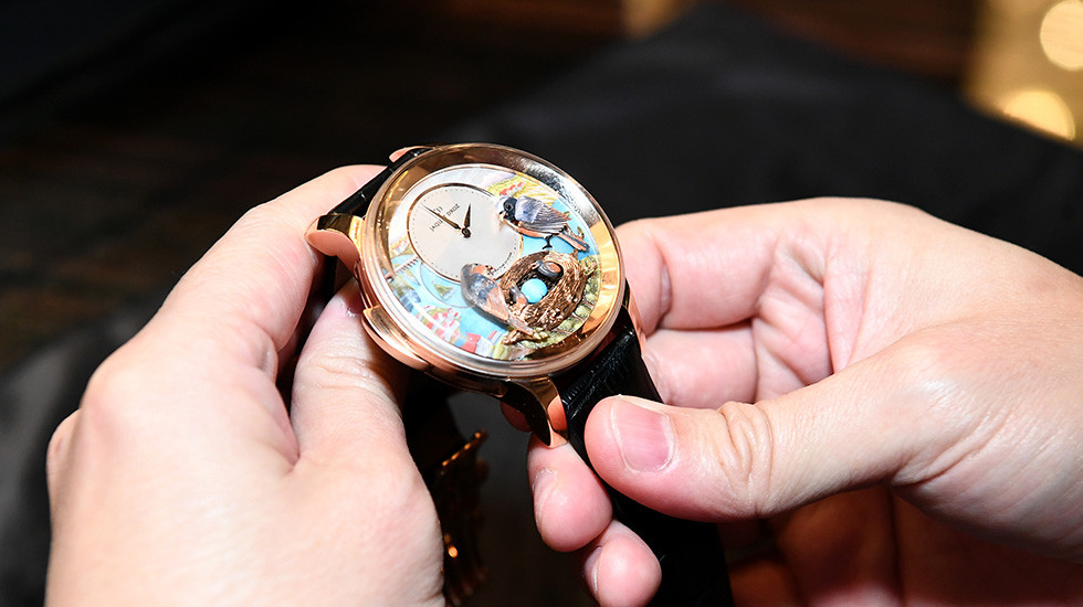 JAQUET DROZ UNVEILED ITS 2018 NOVELTIES IN SINGAPORE