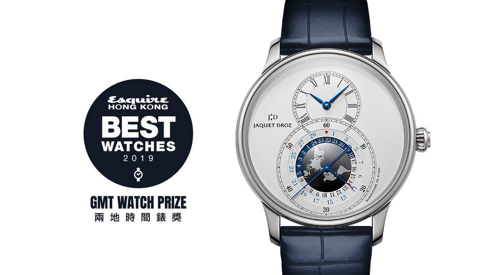 Jaquet Droz, Equire Best Wathes Award, Grande Seconde Dual Time, Award Illustration