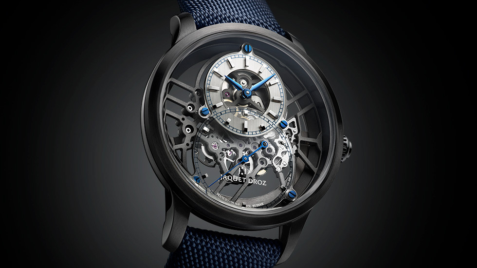 Jaquet Droz, 2109 Novelties, Grande Seconde Skelet-One Ceramic