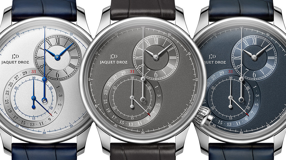 Jaquet-Droz, Grande Seconde Chronograph Off-Centere Collection, Front