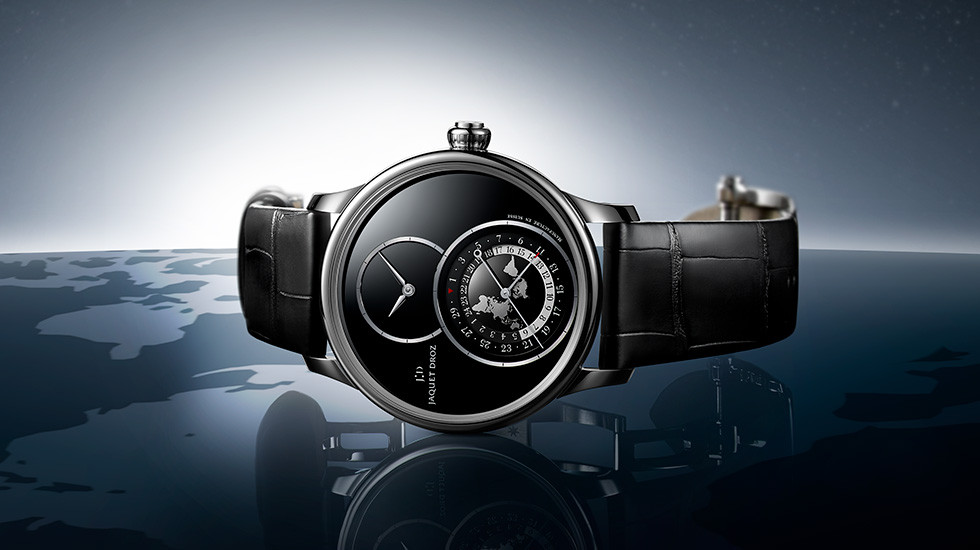 Jaquet Droz, Grande Seconde Dual Time Onyx, J016030271, Ambiance