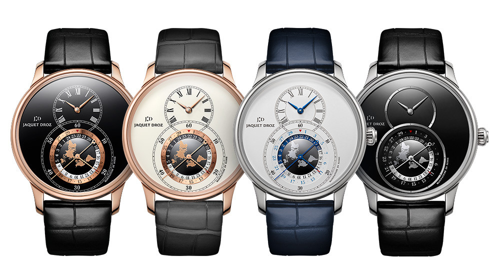 Jaquet Droz, Grande Seconde Dual Time, All Front