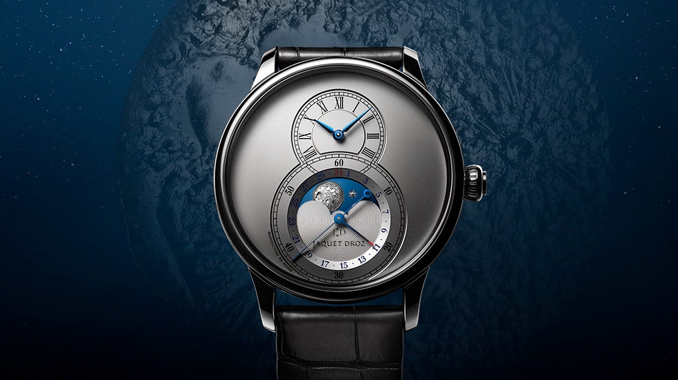 NEW MOON RISING OVER THE GRANDE SECONDE MOON COLLECTION | Jaquet Droz
