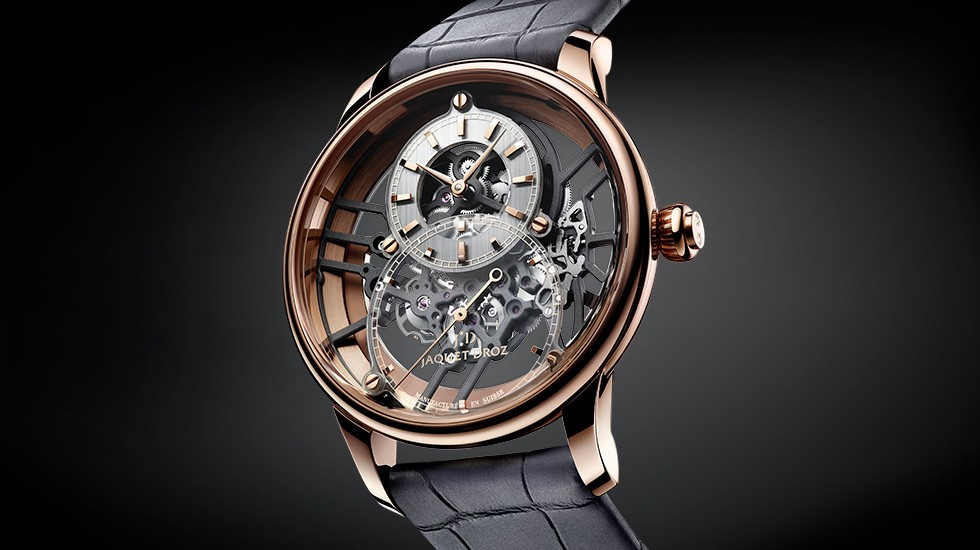 Jaquet Droz, Grande Seconde Skelet-One Red Gold, J003523241, Ambiance