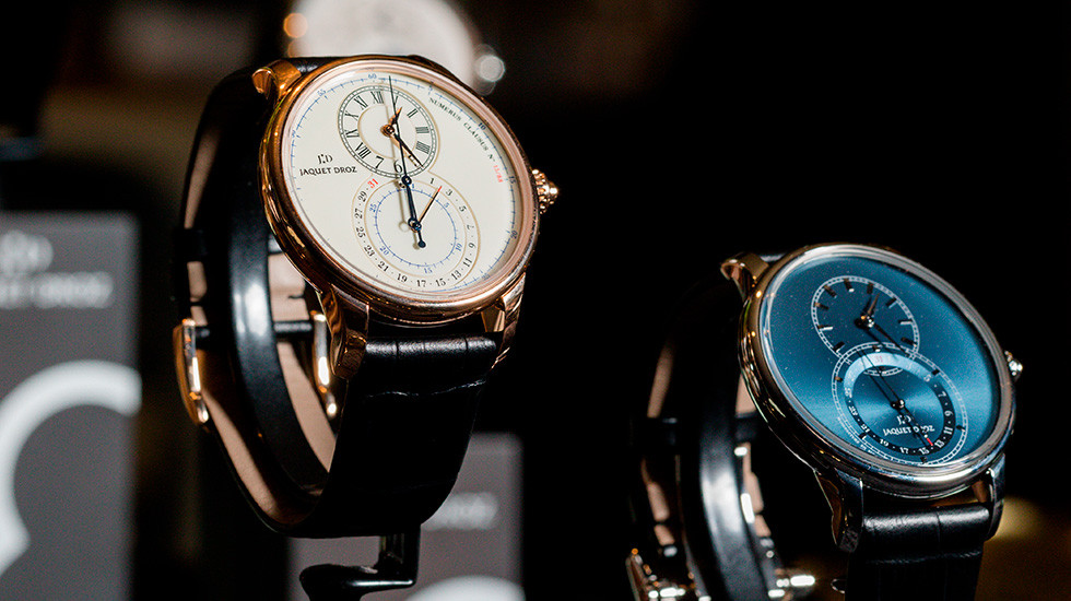 Jaquet Droz, Hong Kong Opening, Grande Seconde Chronograph Showcase