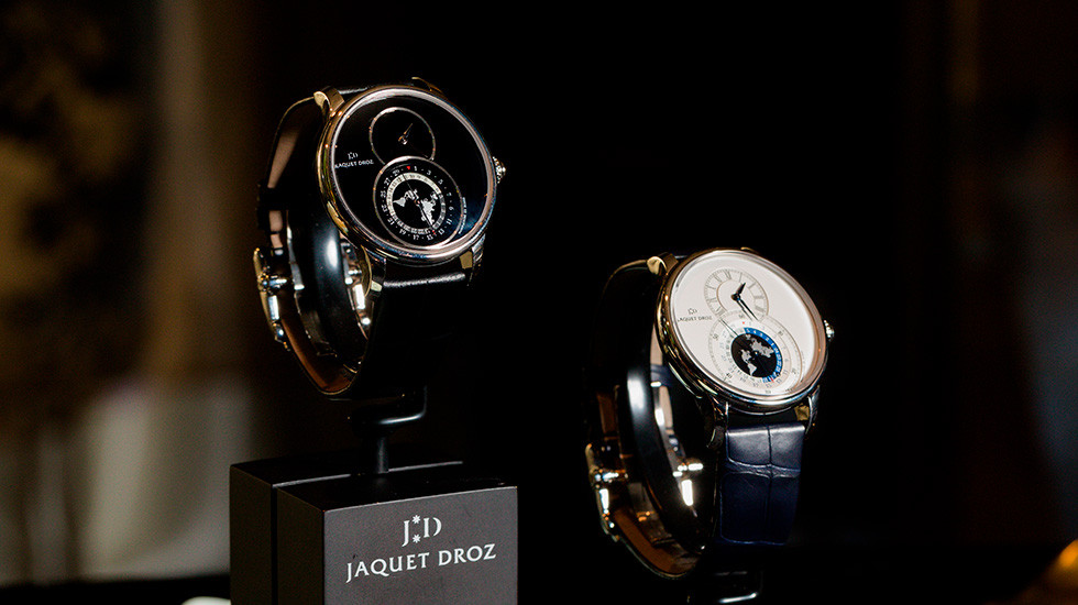 Jaquet Droz, Hong Kong Opening, Grande Seconde Dual Time Showcase