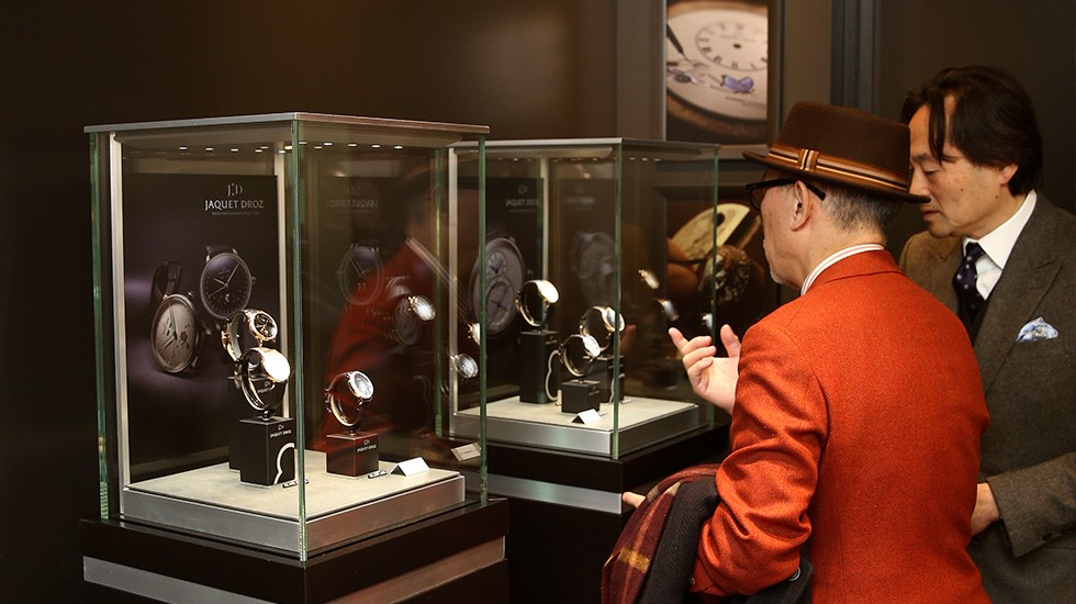 JAQUET DROZ AND GLASHÜTTE ORIGINAL OPEN THEIR SECOND JOINT BOUTIQUE IN TOKYO