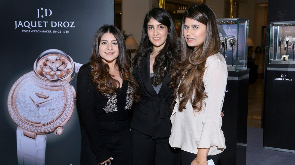 Jaquet Droz and Johnson Watch Company, Special cocktail in New Delhi, Guests Photo Call