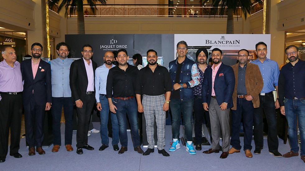 Jaquet Droz and Johnson Watch Company, Special cocktail in New Delhi, Guests