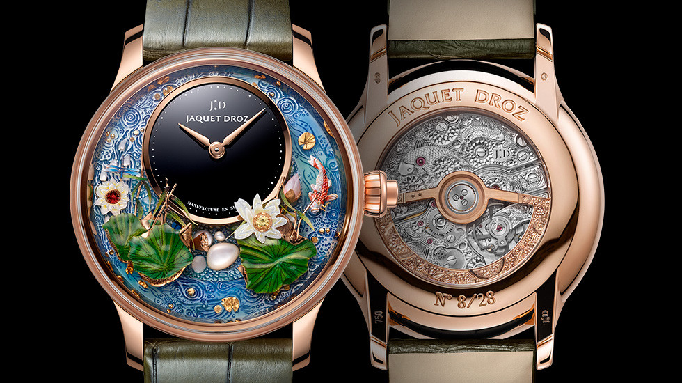 Jaquet Droz, Magic Lotus Automaton, J032633270, Front Back