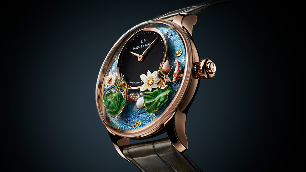 Jaquet Droz, 2109 Novelties, Magic Lotus Atomaton