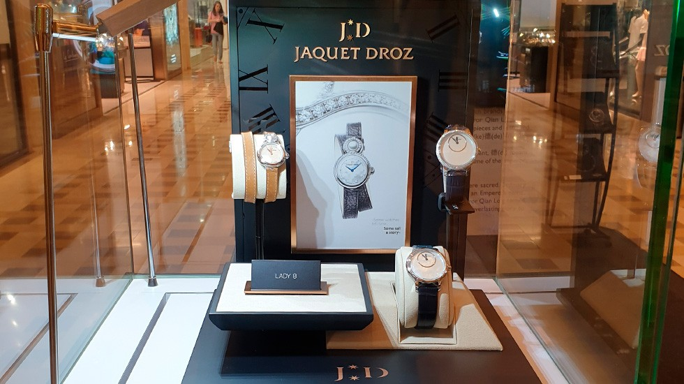 Jaquet Droz, Marina Bay Sands Pop-Up Exhibition, Mother Of Peral Pieces Showcase