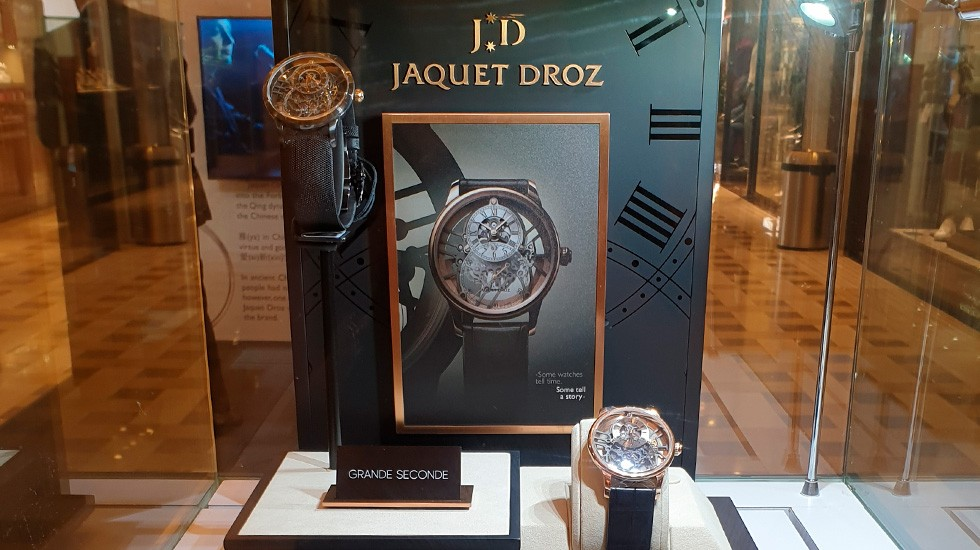 Jaquet Droz, Marina Bay Sands Pop-Up Exhibition, Grande Seconde Skelet-One Showcase