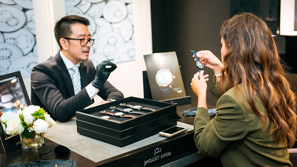 Jaquet Droz, Mineral pieces presentation