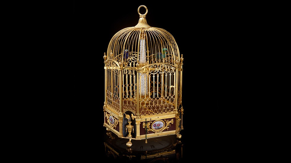 "Jaquet Droz, Mudec, ""Robot. The Human Project"", Bird Cage, Ambiance"