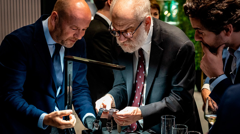 Jaquet Droz, 2019 Novelties Presentation, New York, Christian Lattmann Presenting