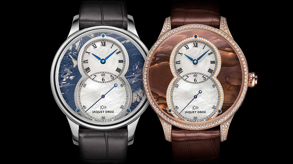 Grande Seconde Circled, Covelline & Biggs Jasper