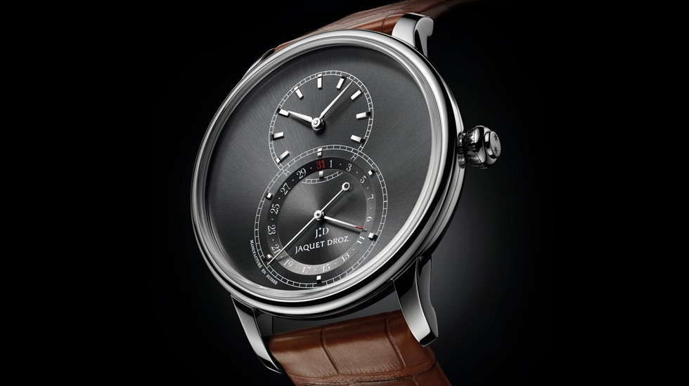 JAQUET DROZ, J007030248, GRANDE SECONDE QUANTIEME SATIN-BRUSHED ANTHRACITE, AMBIANCE