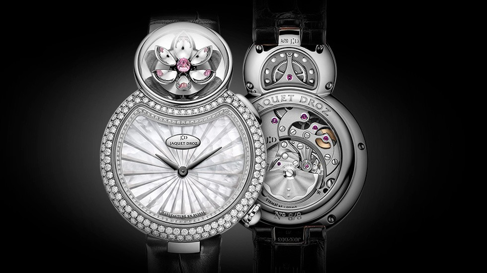 Jaquet Droz, Lady 8 Flower, J032004270, Front Back