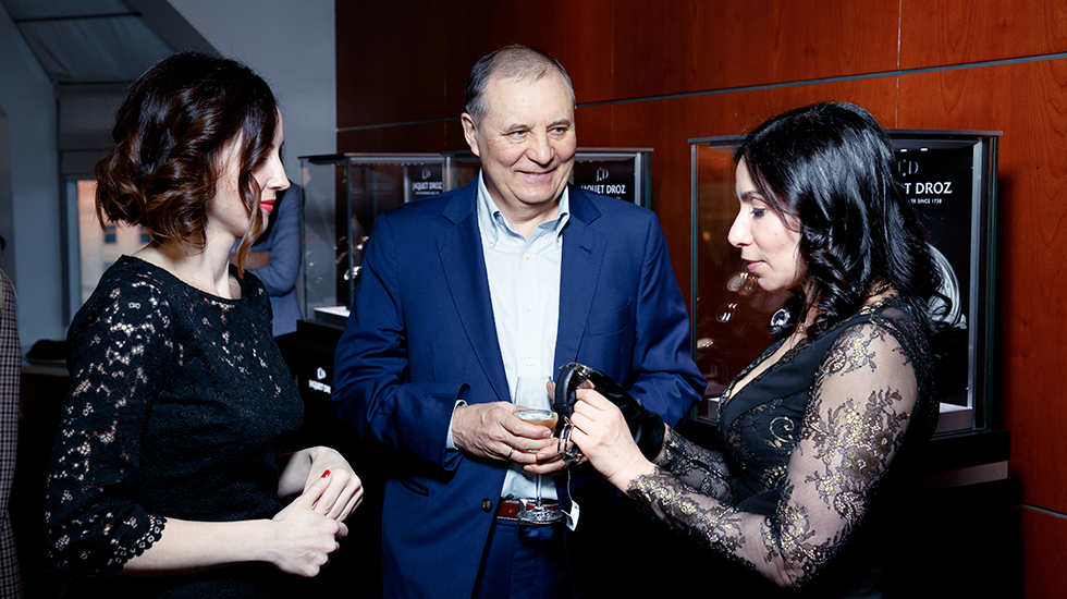 JAQUET DROZ EVENT IN RUSSIA
