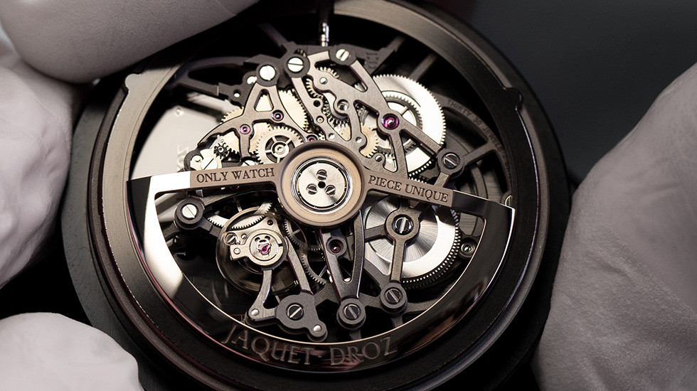 Jaquet Droz, Only Watch 2019, Grande Second Skelet-One Ceramic, Workshop Movement, J003525543