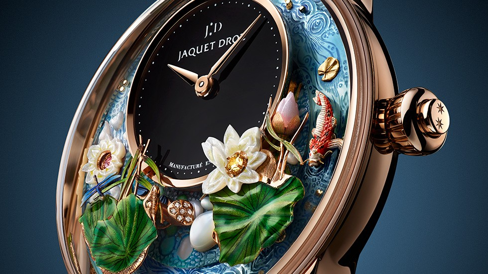 Jaquet Droz,Orologio Award, Magic Lotus Automaton, J032633270, Ambiance Picture