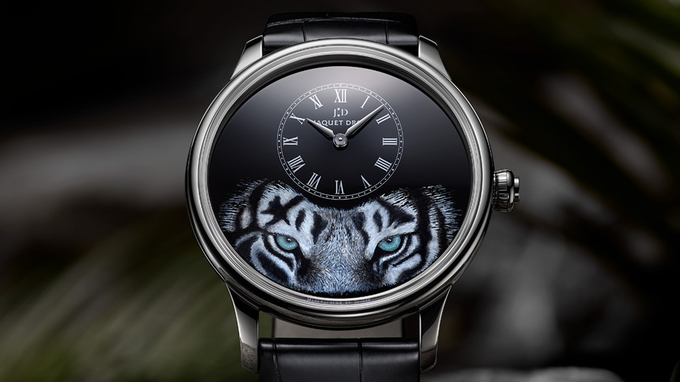 Jaquet Droz, Petite Heure Minute Tiger, J005034275, Ambiance