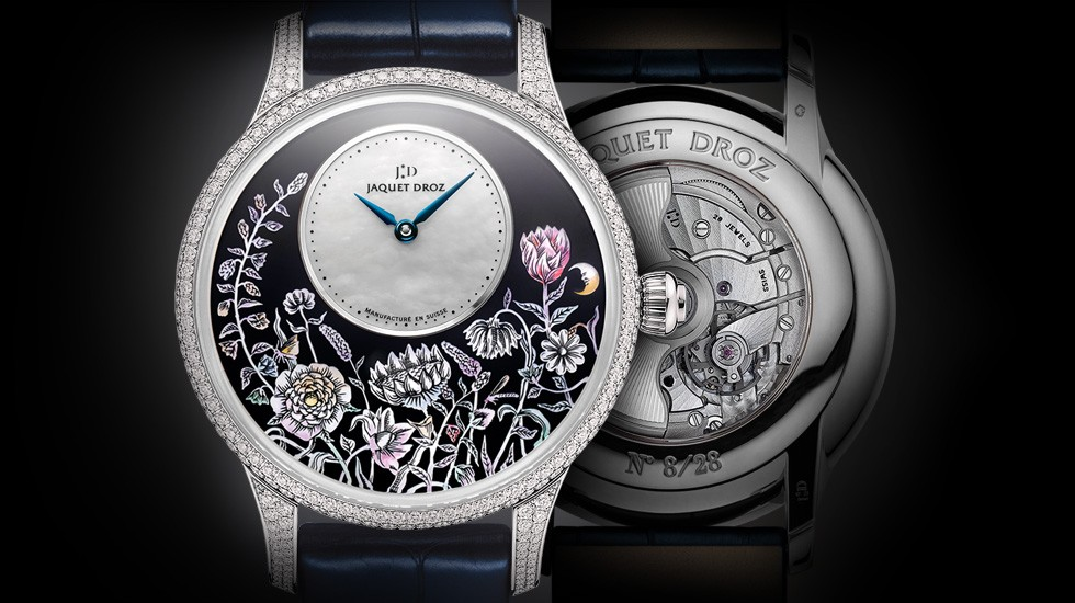 Jaquet Droz, J005014211, Petite Heure Minute Thousand Year Lights