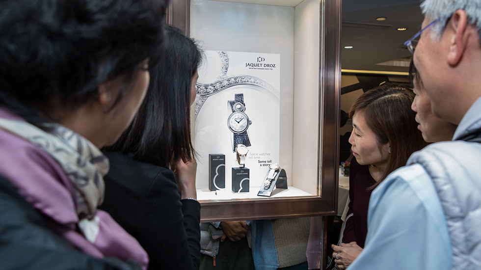 Jaquet Droz, Prince Event, Hong Kong, Lady 8 Petite, Showcase