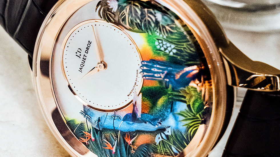 Jaquet Droz, Prince Event, Hong Kong, Tropical Bird Repeater