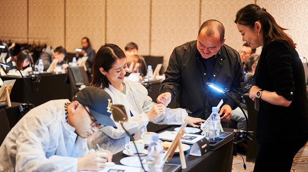 Jaquet Droz, Painting Workshop In Shanghai, Guests and Artist