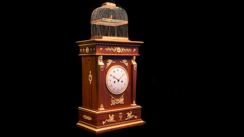 THE INCREDIBLE RESTORATION OF AN AUTHENTIC JAQUET DROZ CLOCK