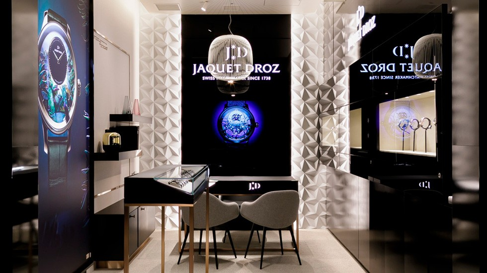 Jaquet Droz, Shop in Shop at Daimaru Shinsaibashi Main building, Osaka, Main View